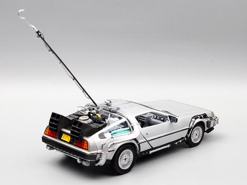1/24 Welly DeLorean DMC-12 DMC12 Back To The Future Part 1 Diecast Car Model