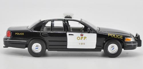 1/24 Welly Ford Crown Victoria Police Car Diecast Car Model
