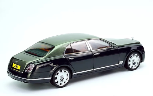 1/18 Almost Real Almostreal Bentley Mulsanne (Green) Diecast Car Model