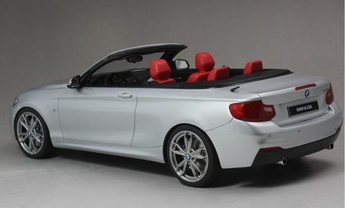 1/18 GT Spirit GTSpirit BMW 2 Series M235i M240i 228i 230i F23 (Silver) Diecast Car Model