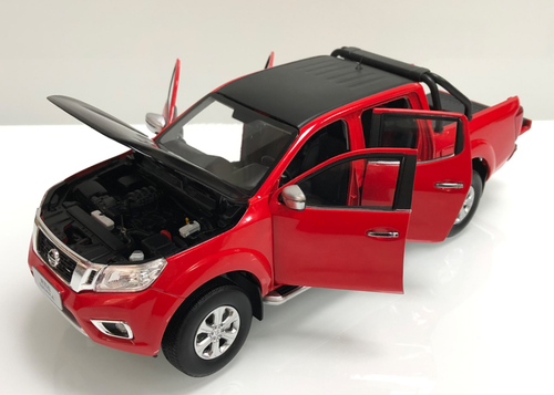 1/18 Dealer Edition Nissan Frontier / Navara Pickup Truck (Red) Diecast Car Model