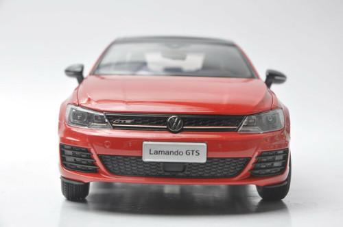 1/18 Dealer Edition Volkswagen VW Lamando GTS (Red) Diecast Car Model