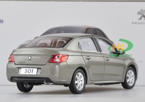 1/18 Dealer Edition Peogeot 301 (Grey Brown) Diecast Car Model