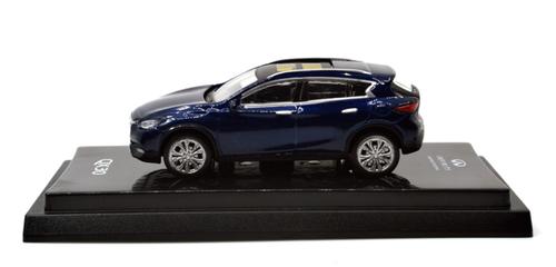 1/64 Dealer Edition Infiniti QX30 (Blue) Diecast Car Model