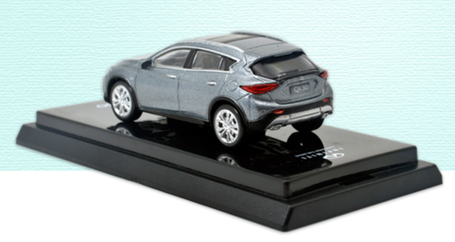 1/64 Dealer Edition Infiniti QX30 (Grey) Diecast Car Model