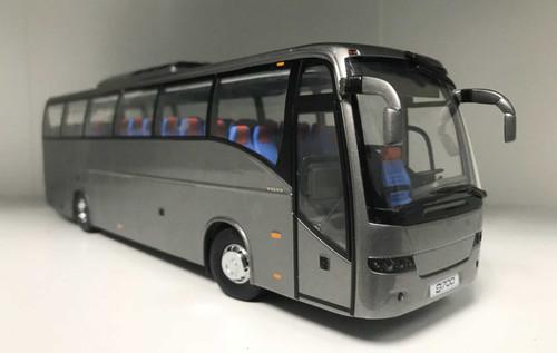 1/43 Dealer Edition Volvo 9700 Bus (Grey) Diecast Car Model