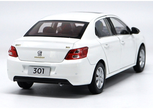 1/18 Dealer Edition Peogeot 301 (White) Diecast Car Model