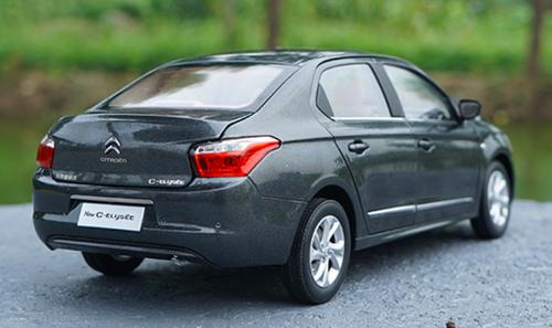 1/18 Dealer Edition Citroen Elysee (Grey) Diecast Car Model