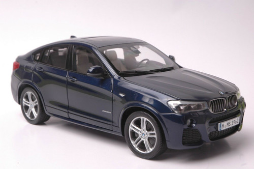1/18 Paragon BMW X4 F26 (2014–2018) (Blue) Diecast Car Model