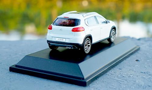 1/43 Dealer Edition Citroen C3-XR C3XR (White) Diecast Car Model