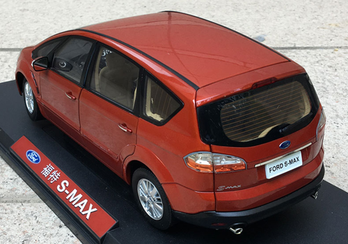 1/18 Dealer Edition Ford S-Max SMax (Red) Diecast Car Model