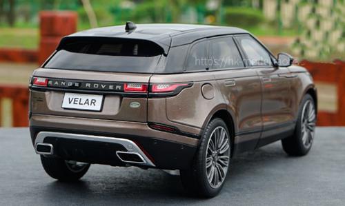 1/18 LCD MODELS Land Rover Range Rover Velar (Brown) Diecast Car Model