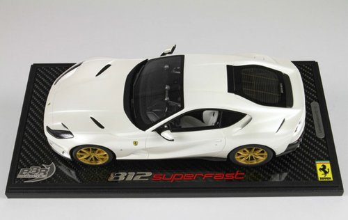 1/18 BBR Ferrari 812 Superfast (White) Resin Car Model Limited