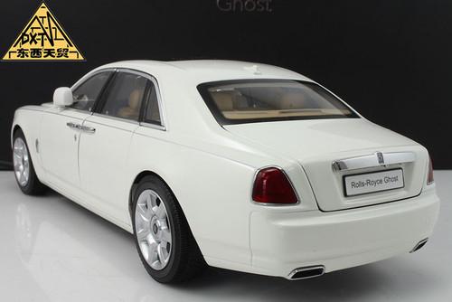 1/18 Kyosho Rolls-Royce Ghost (White) Diecast Car Model