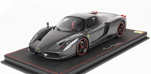 1/18 BBR 2004 Ferrari Enzo (Gloss Full Carbon Fiber) Resin Car Model Limited 20