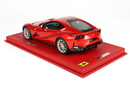 1/18 BBR Ferrari 812 Superfast Rosso F1 Lucido (Red w/ Silver Wheels) Resin Car Model Limited