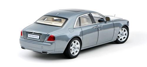 1/18 Kyosho Rolls-Royce Ghost (Jubilee Silver Blue) Diecast Car Model