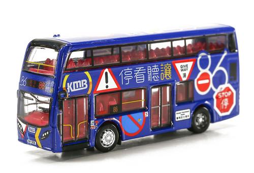 Tiny City Hong Kong KMB 86th Birthday Enviro400 Bus Diecast Car Model