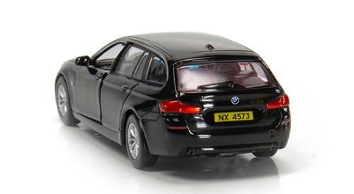 Tiny City BMW 5 Series F11 Touring Hong Kong Police (Traffic) Black Diecast Car Model