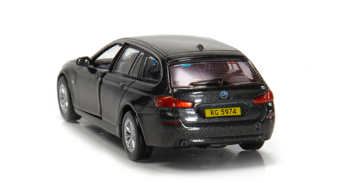 Tiny City BMW 5 Series F11 Touring Hong Kong Police (Traffic) Brown Diecast Car Model