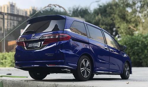 1/18 Dealer Edition 2019 Honda Odyssey (Blue) Diecast Car Model