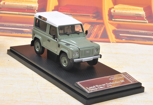 1/43 Almost Real Almostreal Land Rover Defender 90 Short Wheelbase SWB (Green) Diecast Car Model Limited 1999