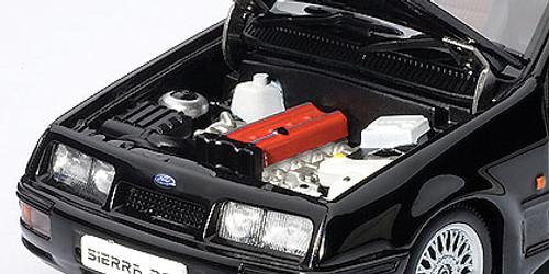 1/43 AUTOart FORD SIERRA RS COSWORTH - Black Diecast Car Model 52861