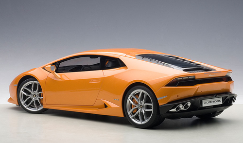 1/12 AUTOart LAMBORGHINI HURACAN LP610-4 (ARANCIO BOREALIS 4-LAYER/PEARL METALLIC ORANGE) Diecast Car Model 12098