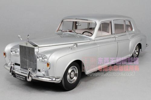 1/18 Paragon 1964 Rolls-Royce Phantom V (Silver) Diecast Car Model
