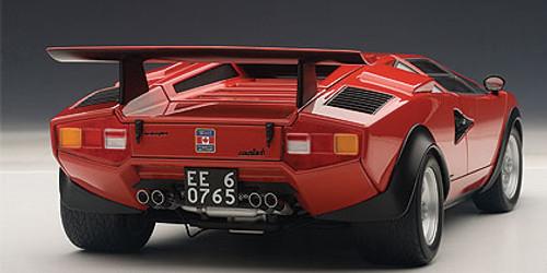 1/18 AUTOart Lamborghini Countach WALTER WOLF EDITION (Red) Diecast Car Model 74651