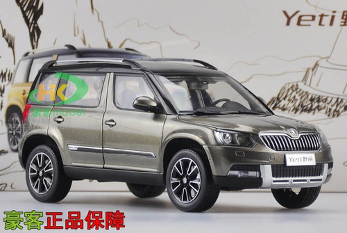 1/18 Dealer Edition Skoda Yeti (Grey) Diecast Car Model