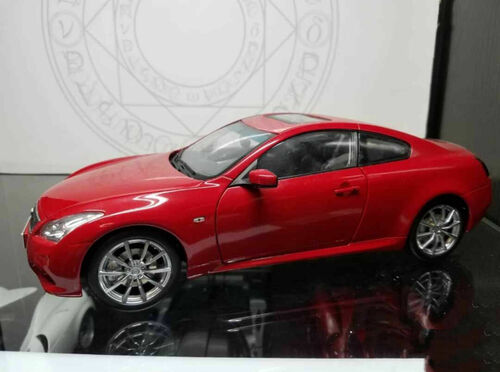 1/18 Dealer Edition Infiniti Q60 (Red) Diecast Car Model
