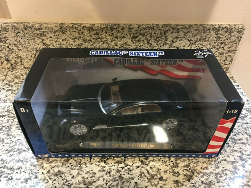 DEFECT Chipped roof New In Box Ricko Cadillac 16 Sixteen Diecast Car Model (IN US)