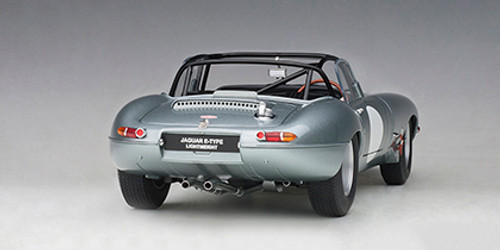 1/18 AUTOart Jaguar Lightweight E-Type EType (Silver) Diecast Car Model 73646