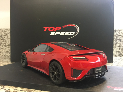 Defect 1/18 TSM Top Speed Acura NSX (Red) Resin Car Model Limited 999 Worldwide