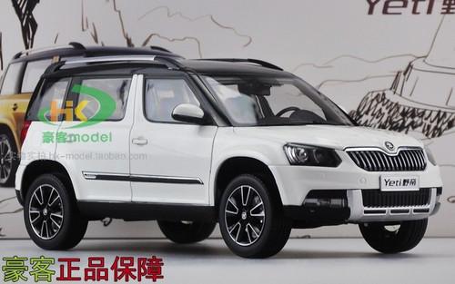1/18 Dealer Edition Skoda Yeti (White) Diecast Car Model