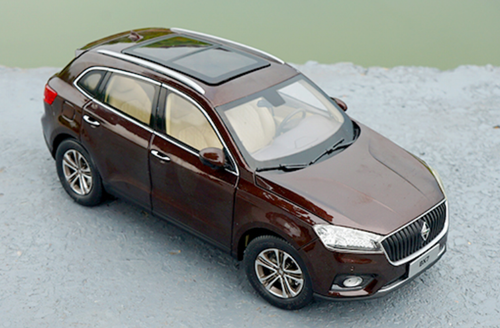 1/18 Dealer Edition Borgward BX7 (Brown) Diecast Car Model