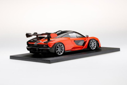 1/18 Dealer Edition McLaren Senna (Orange) Resin Car Model