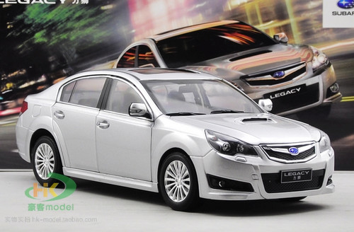 1/18 Dealer Edition Subaru Legacy (Silver) Diecast Car Model