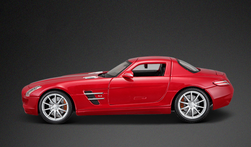 1/18 Maisto Mercedes-Benz Mercedes SLS AMG (Red) Diecast Car Model