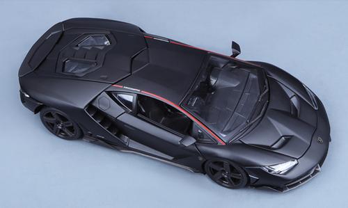 1/18 Maisto Lamborghini Centenario LP770-4 (Matte Black) Diecast Car Model