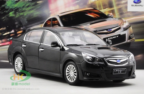 1/18 Dealer Edition Subaru Legacy (Black) Diecast Car Model