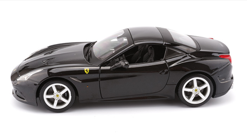 1/18 BBurago Ferrari California T Hardtop (Black) Diecast Car Model