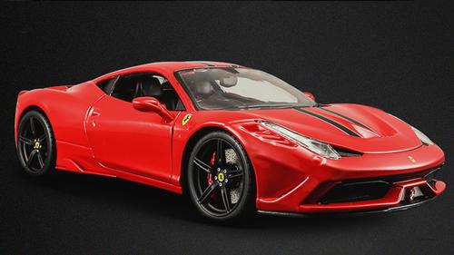 1/18 BBurago Signature Series Ferrari 458 Speciale (Red) Diecast Car Model