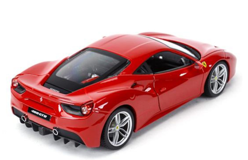 1/18 BBurago Ferrari 488GTB 488 GTB (Red) Diecast Car Model