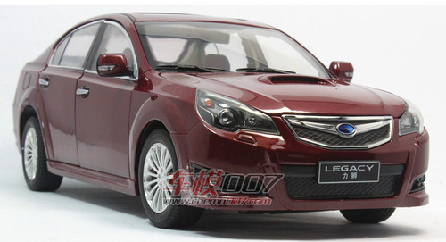1/18 Dealer Edition Subaru Legacy (Red) Diecast Car Model