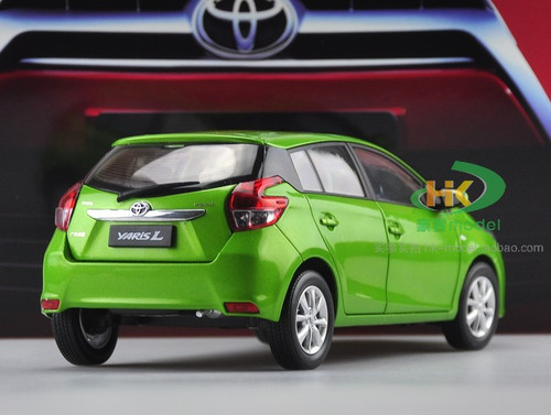 1/18 Dealer Edition Toyota Yaris L / Vios (Green) Diecast Car Model