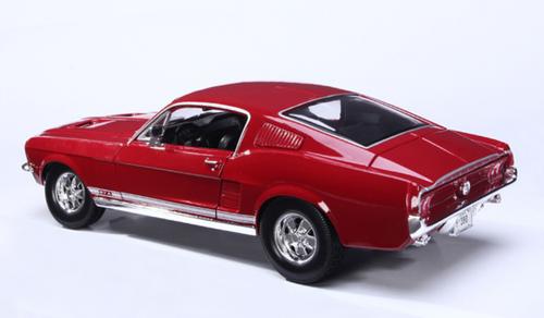 1/18 Maisto 1967 Mustang GT GTA (Red) Diecast Car Model