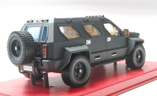 1/18 Dealer Edition George S. Patton SUV (Black) Resin Enclosed Resin Car Model