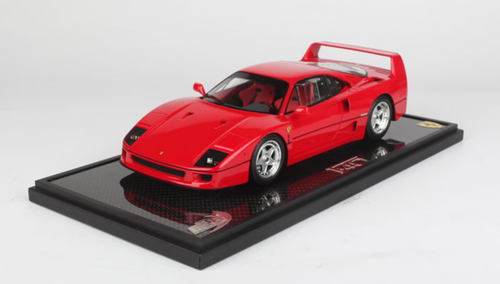 1/18 BBR 1987 Ferrari F40 (Red Rosso Corsa) Resin Car Model Limited 50